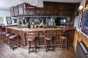 The lounge or bar area at Waggon and Horses