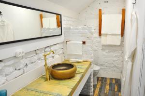 Ванная комната в Апарт-Отель Депутатский