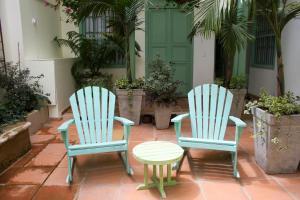 A seating area at Hotel Casa de la Vega