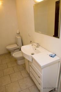 A bathroom at Kedem Hotel