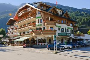 Hotel Gasthof Perauer during the winter
