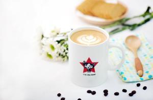 Coffee and tea-making facilities at Pure Tea and China B&B