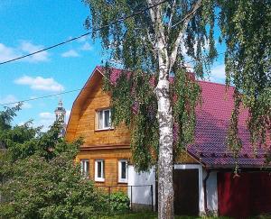 Фасад или вход в Гостевой дом на Нетеке