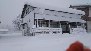 Guesthouse AntHut saat musim dingin