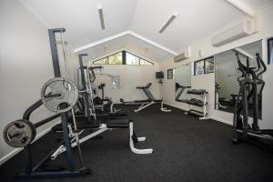 The fitness center and/or fitness facilities at Forte Leeuwin Apartments
