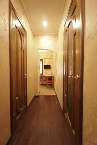 A bathroom at Lenina 1G Apartment