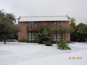 Campo Las Tinajas durante el invierno