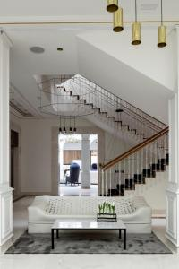 El vestíbulo o zona de recepción de Palacio de los Duques Gran Meliá - The Leading Hotels of the World