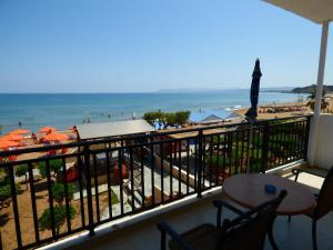 A balcony or terrace at Camelia Studios & Apartments