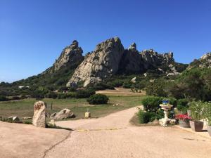 Paesaggio naturale nelle vicinanze della villa