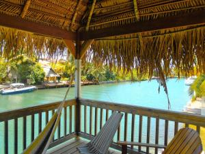 A balcony or terrace at Dolce Cabana Waterfront Suites