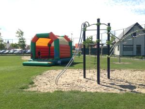 Children's play area at Camping Ter Hoeve