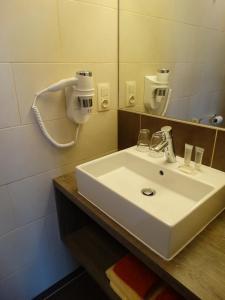 Salle de bains dans l'établissement Hotel Kristoffel