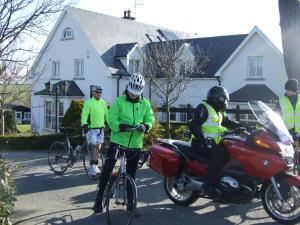 Biking at or in the surroundings of Ballyderrin House
