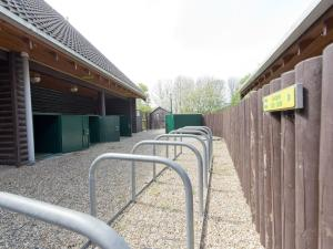 A porch or other outdoor area at YHA London Lee Valley