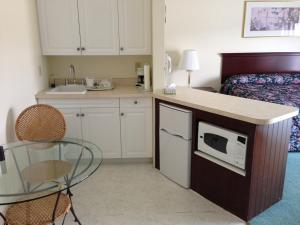 A kitchen or kitchenette at The Falls Motel