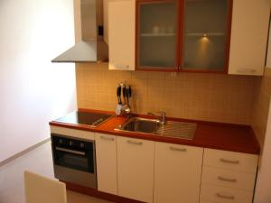 A kitchen or kitchenette at Boutique Apartments Seputic