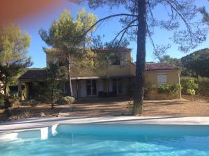 The swimming pool at or near La Bastide