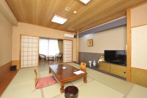 The lounge or bar area at Kagoiwa Onsen Ryokan