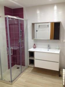 A bathroom at Casa abuela Gaspara I