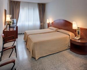 A room at Hotel Gaudi