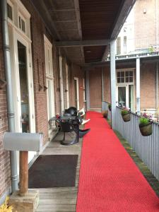 A porch or other outdoor area at Labnul50 Groningen