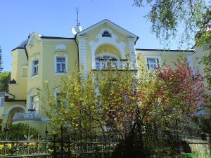 Budova, kde se vila nachází