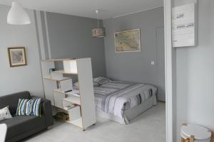 A room at Studio proche gare St Jean