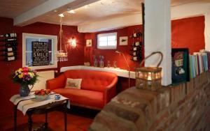 Lounge oder Bar in der Unterkunft Sternhagens Landhaus
