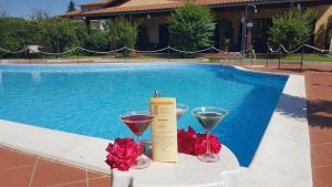 The swimming pool at or near Hotel Duca Della Corgna