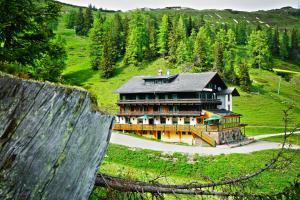 Zahrada ubytování Hotel Alpen Arnika