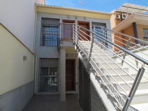 A balcony or terrace at Apartamentos Amanecer Murcia