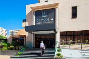 Фасад или вход в Kapetanios Odyssia