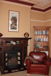 A seating area at Turret House