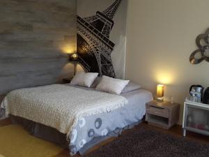 A room at Carnetin Le Parc, Gite et B&B