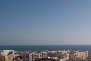 A general view of Cádiz or a view of the city taken from the apartment