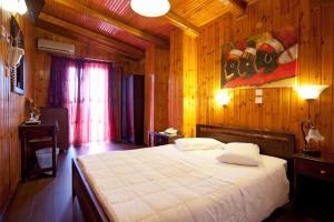 Ένα δωμάτιο στο Ξενοδοχείο Λέφας