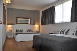 Een kamer bij Aparthotel Atenea Barcelona