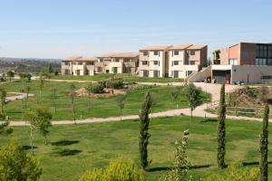 Jardín al aire libre en Vilar Rural de Cardona