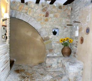 A bathroom at Casa Jabonero