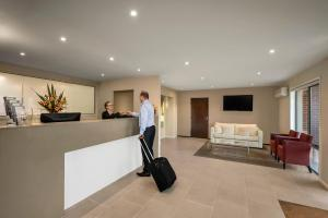 The lobby or reception area at Quest Moonee Valley
