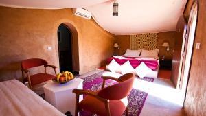 Coin salon dans l'établissement HOTEL Bab Rimal
