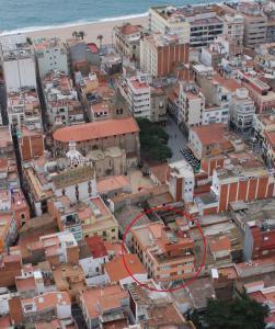 Apartaments Lloveras a vista de pájaro