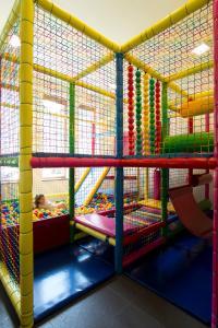 A bunk bed or bunk beds in a room at Apartamenty Comfort & Spa Stara Polana