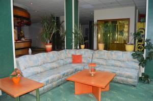 Lobby/Rezeption in der Unterkunft Hotel Stadt Jessen