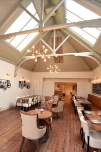 A restaurant or other place to eat at Kirklands Hotel