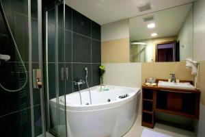 Kúpeľňa v ubytovaní Hotel Janosik