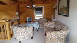 Lounge oder Bar in der Unterkunft Storchennest