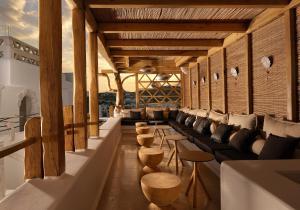 The lounge or bar area at Kensho Ornos