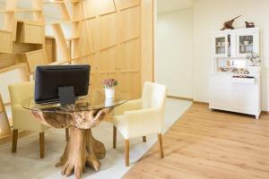 Uma área de estar em Casas do Patio Country Houses & Nature